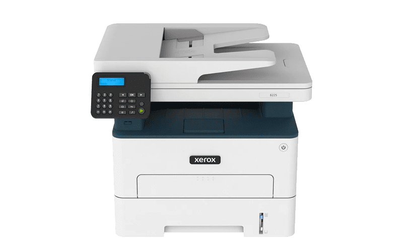 Xerox® B225 multifunktionsprinter set forfra