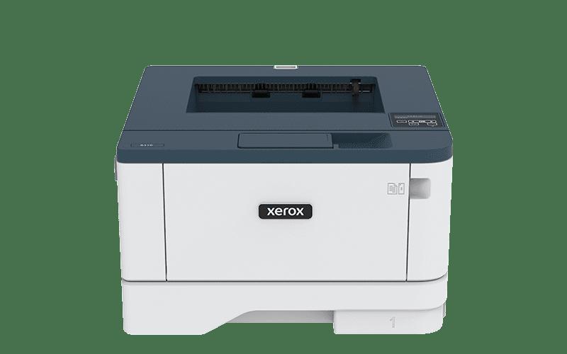 Xerox® B310 multifunktionsprinter frontalvisning